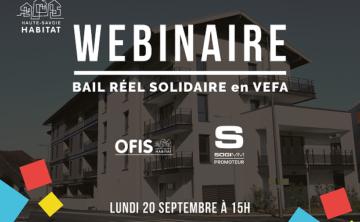 WEBINAIRE Bail Réel Solidaire en VEFA